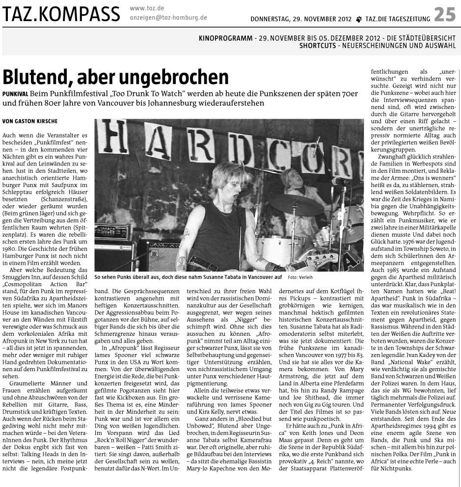 Hamburg clipping