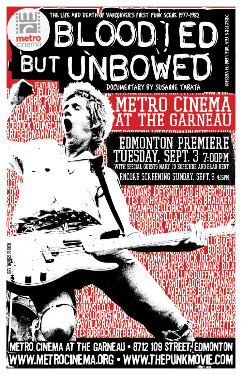 Bloodied But Unbowed - Punk Movie and New Wave Music Documentary